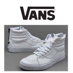 NWOB Vans Premium Leather Sk8 Sneakers